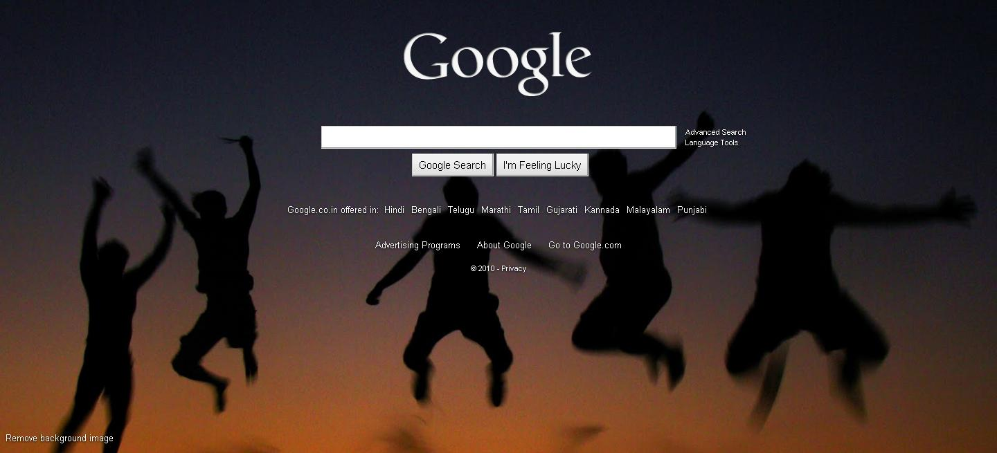 Yes, Now We can change Google background | Manual Web Crawler